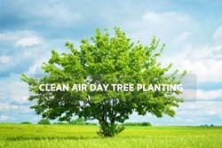 Clean Air Day Tree Planting Oct. 2