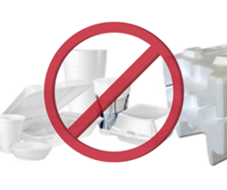 Disposable Food Service Ware and Polystyrene Foam Ban