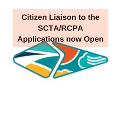 Citizen Liaison to the SCTA/RCPA Opening