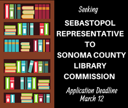 Sonoma County Library Commission Opening