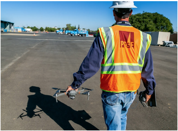 6/30: PG&E Conducting Drone/Helicopter Line Inspections