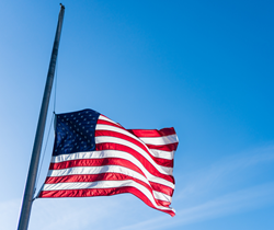 4/2: Flags at Half-Staff in Honor of Capitol Police Officers